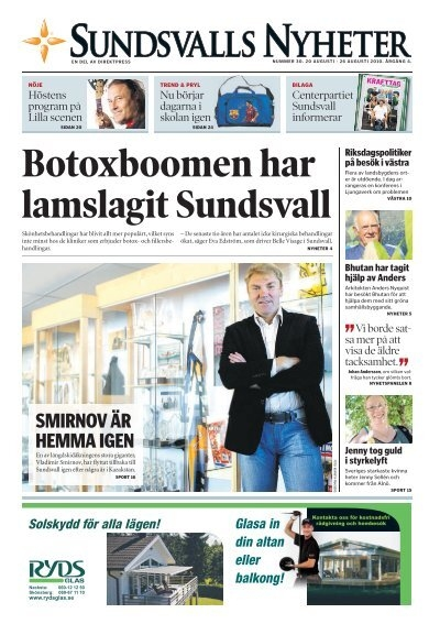 Viktigt att komma ihg den 6 november | ETC Sundsvall