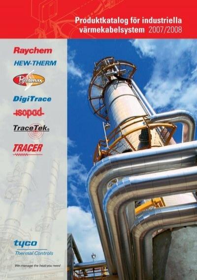 Produktkatalog F 246 R Industriella V 228 Rmekabelsystem Pentair