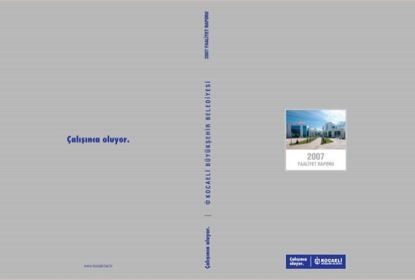 genel b‹lg‹ler - Kocaeli Büyükşehir Belediyesi