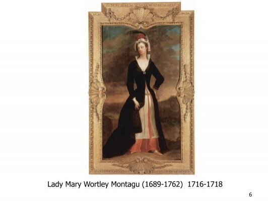 lady monatgu analysis paper Known for her letters, but wrote a variety of genres, including poetry, fiction, and essays advocate of small pox vacination after nearly dying from small pox, montagu had her five-year-old son vacinated against the disease in constantinople.