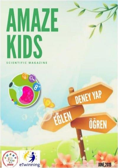 Amaze Kids Bilim Dergisi