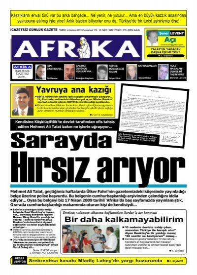 5 Temmuz 2009 Afrika Gazetesi