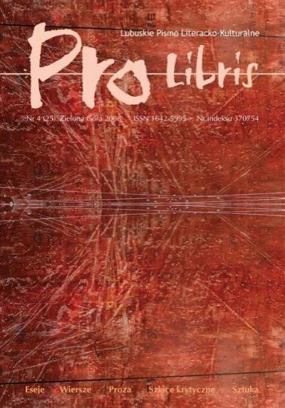 Cały Numer 25 W Jednym Pliku Pdf Pro Libris Wojewódzka I