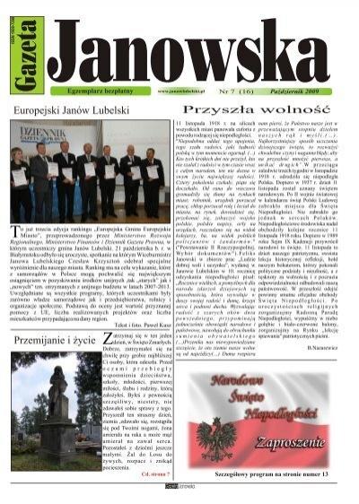 Gazeta Um Janã³w Lubelski