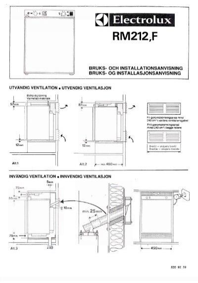 dometic manual rm 212 f pdf kama fritid rh yumpu com