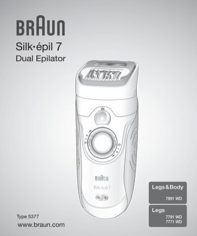 Silk•épil - Braun Consumer Service spare parts use instructions ... a01fc0fc06