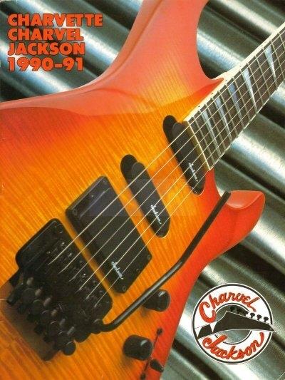 jackson charvel 1990-91 catalog