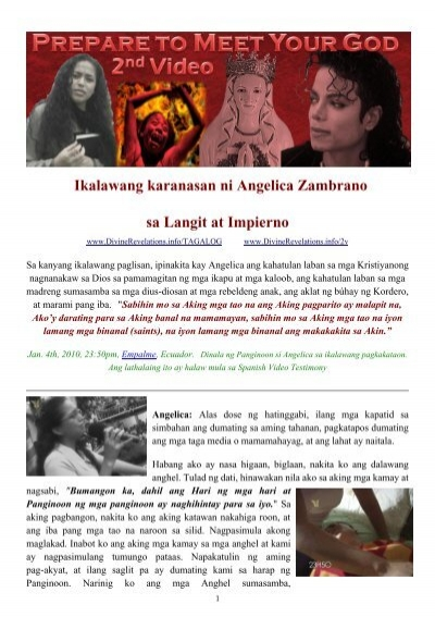 Diccionario ingles espaol tagalog by tagalog angelica zambrano prepare to meet your god 2nd video fandeluxe Choice Image