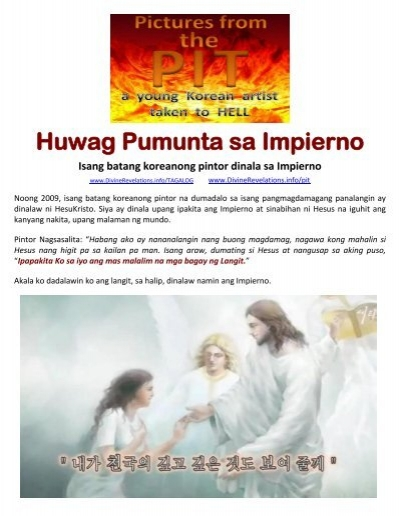 Diccionario ingles espaol tagalog by tagalog dont go to hell pictures from the pit fandeluxe Choice Image