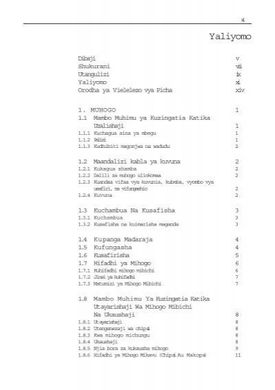 kitabu cha mapishi pdf 16