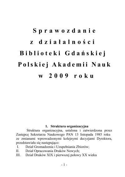 W Formacie Pdf Biblioteka Gdaåska Pan