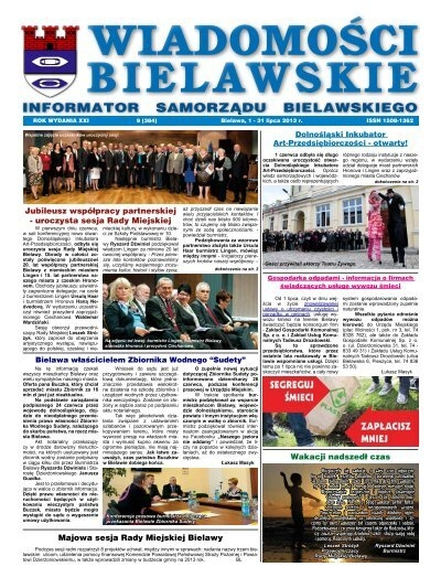 Wiadomosci Bielawskie 1 31 Lipca 2013 Pdf 2787kb