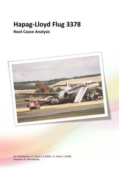 Schon Hapag Lloyd Flug 3378 Root Cause Analysis   C Hertz.ch