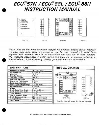 ecu 9988l manual rh yumpu com Ford Car Parts Buick LeSabre Parts