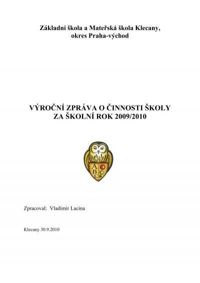 Vyhodnocen alahlia.info obyvatel k aktualizaci - Klecany