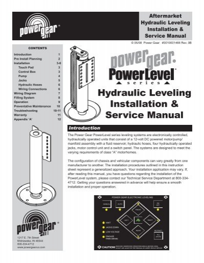 DIAGRAM] Power Gear Leveling Jacks Wiring Diagram FULL