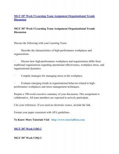 organizational behavior terminology and concepts