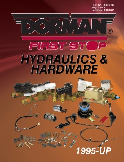 Dorman H38890 Hydraulic Brake Hose