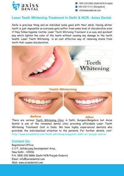 Teeth Whitening Clinic Delhi Teeth Whitening Treatment Delhi