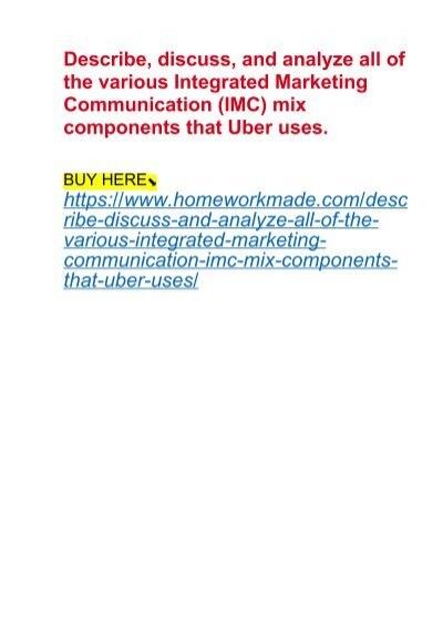 integrated marketing communication mix