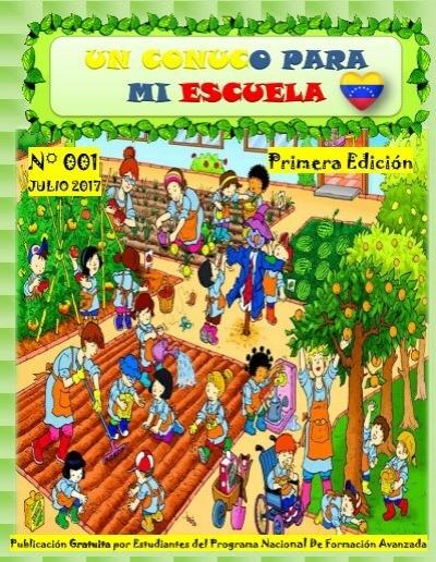Revista Un Huerto Para Mi Escuela Pnfa