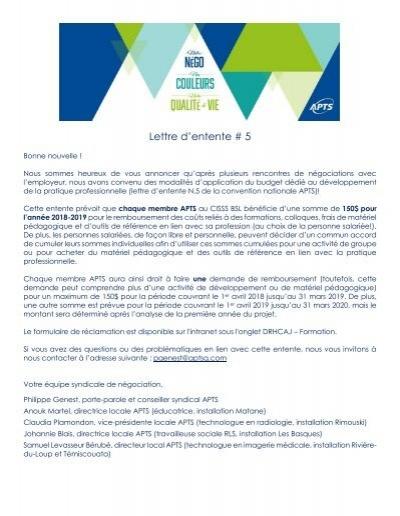 Lettre D 039 Entente 5 Bonne Nouvelle