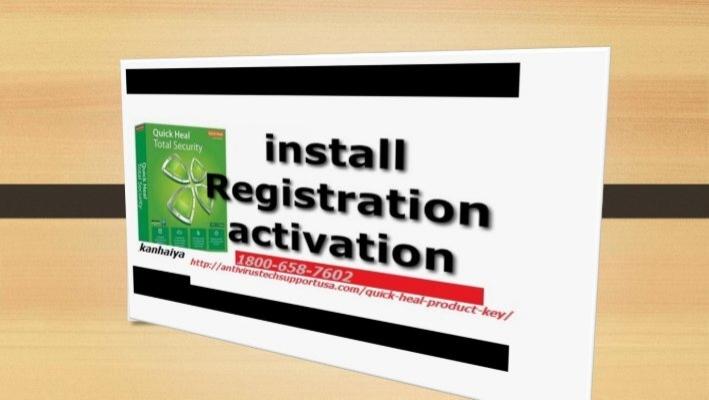 Quick heal registration