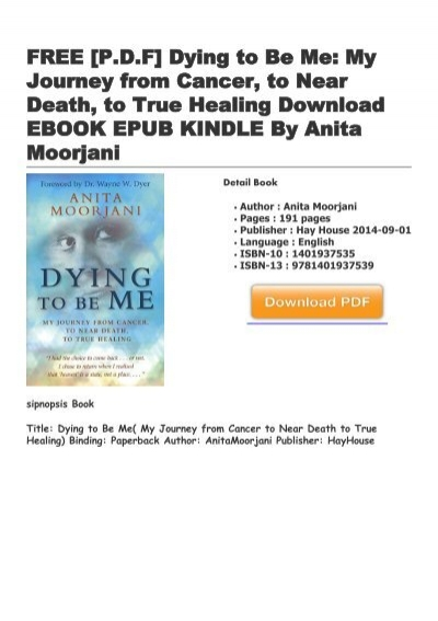 dying to be me free ebook