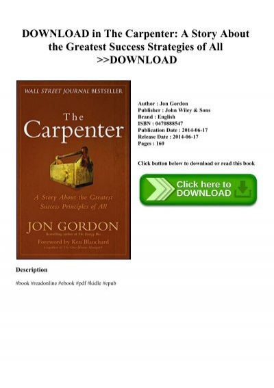 The Carpenter PDF Free Download