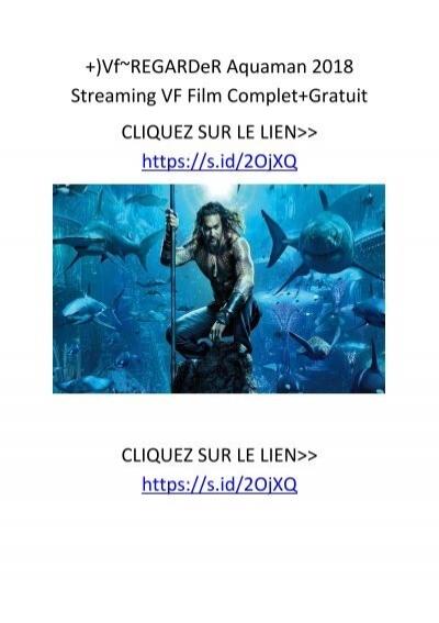 Aquaman Stream English