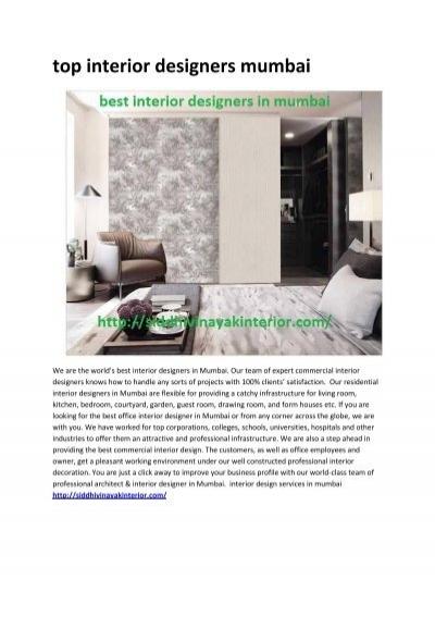 4 Home Interior Design
