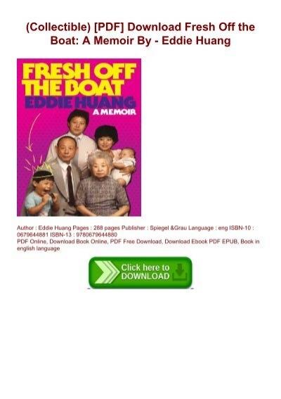 fresh off the boat pdf free