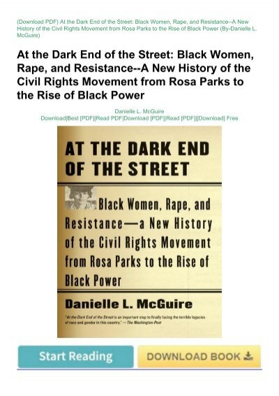 at the dark end of the street mcguire pdf free