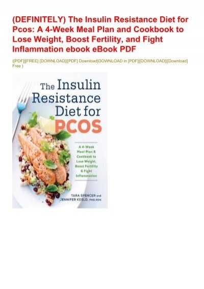 pcos diet cookbook free download