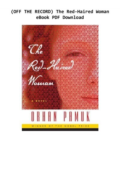 the red haired woman pdf free download