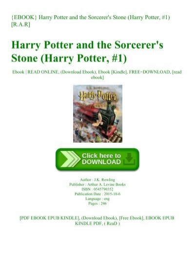 harry potter 1 ebook free download