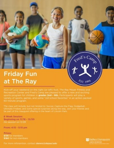 ray meyer fitness and recreation center