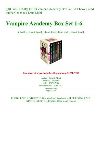 vampire academy book 6 pdf free download