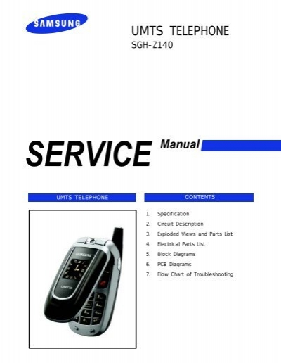 samsung sgh z140 service manual rh yumpu com E250 Samsung Mobile Phone Review Samsung E250 Solutions